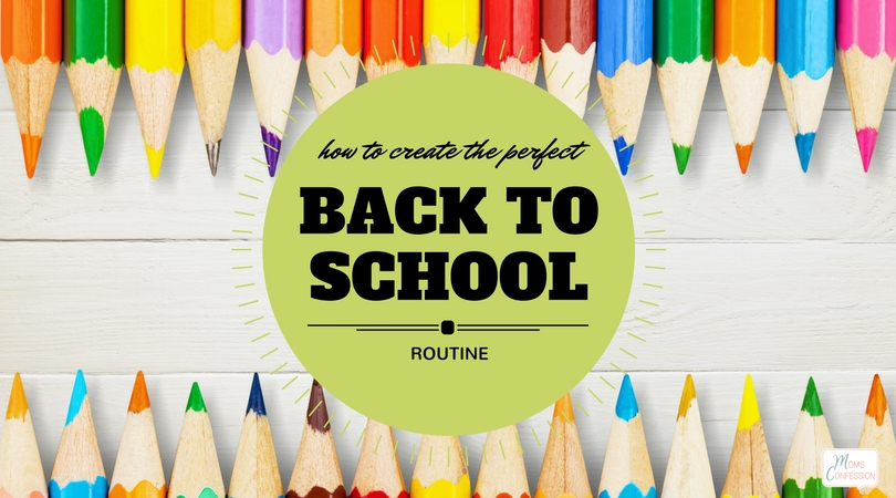 Are you ready to send the kids back to school? Is your routine organized? If not, use these 5 steps to create the perfect back to school routine for you.