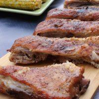 Fall Off the Bone Ribs + Dry Rib Rub Recipe