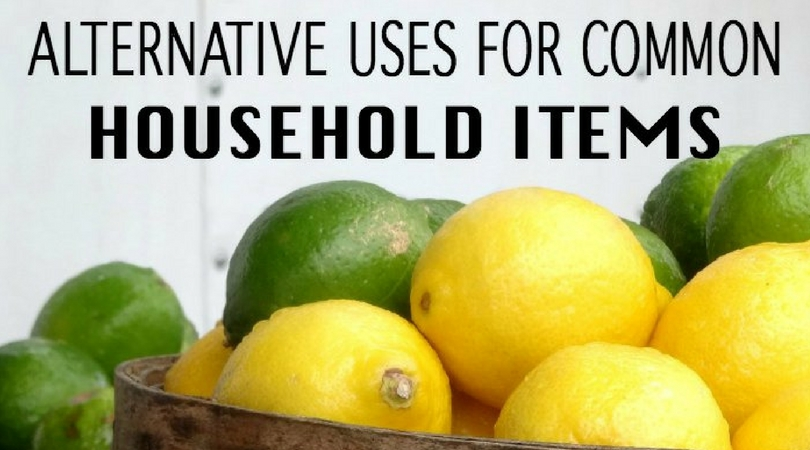 Have you ever looked at stuff and wondered what else it could be used for? If so, here's some other uses for common household items you already have at home