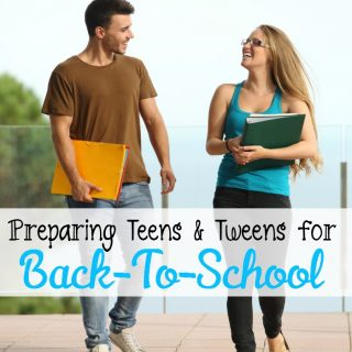 Preparing Teens for Back to School