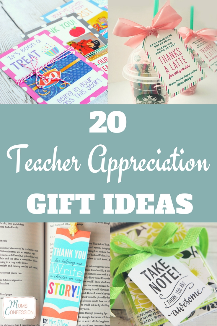 Teacher Appreciation Gift Ideas are a must for keeping your kid's teachers feeling loved and appreciated! Check out this list to make homemade gifts!