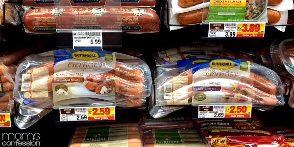 Delicious Butterball Turkey Sausage makes a lean and easy meal.