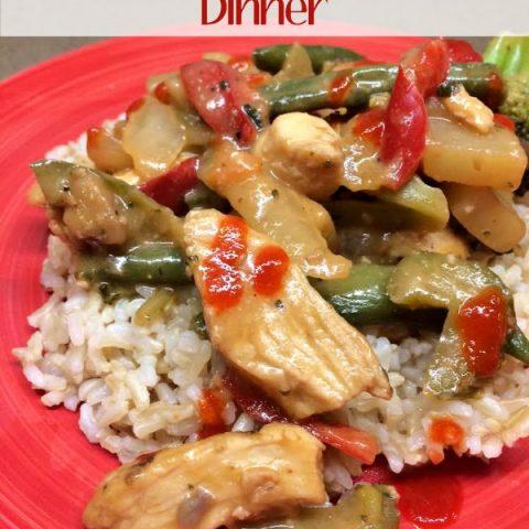Quick & Easy Chicken Stir Fry Recipe