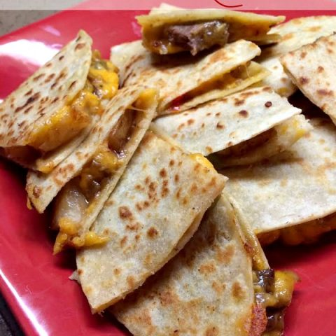 Quick Steak & Potato Quesadillas