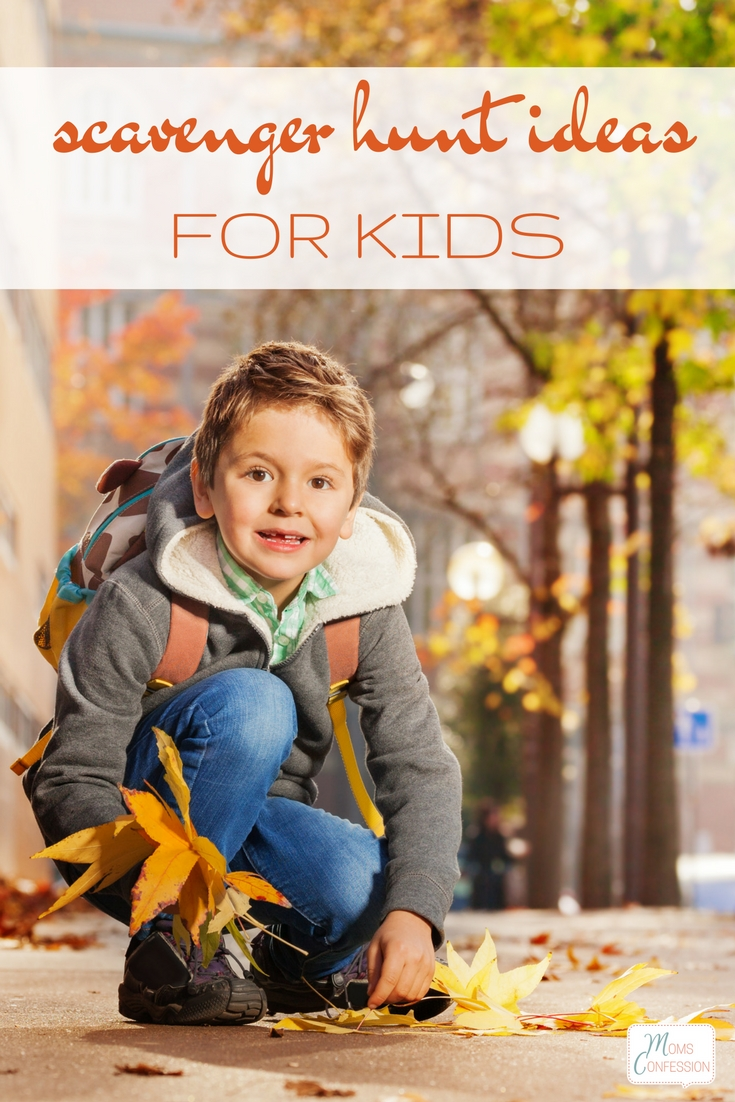 Free & Fun Fall Scavenger Hunt Ideas for Kids
