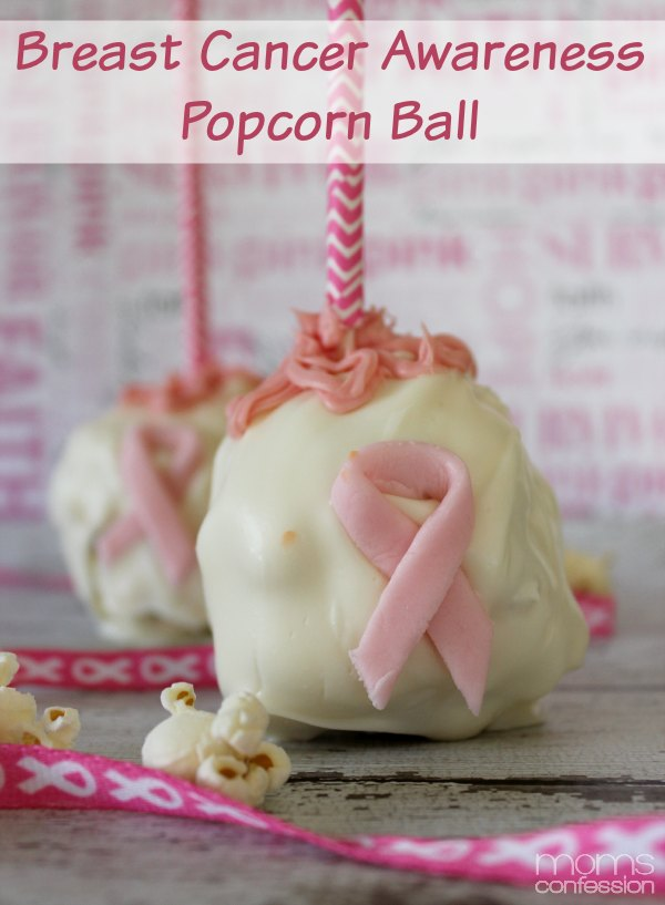 Breast Cancer Awareness Popcorn Balls
