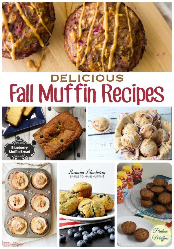 Delicious Fall Muffin Recipes for the season!! YUM!