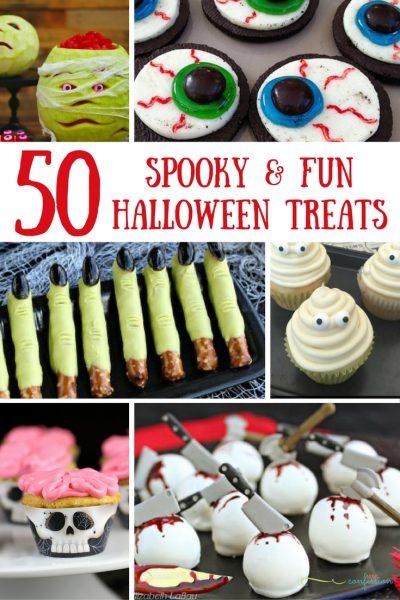 50 Spooky & Fun Halloween Food & Treat Ideas