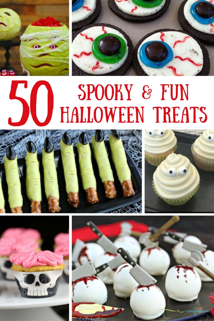 50 Spooky & Fun Halloween Food & Treat Ideas
