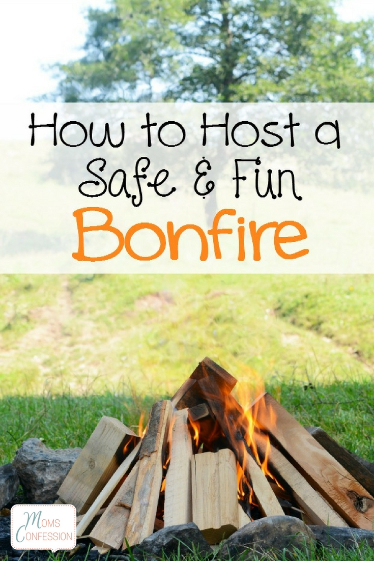 Who doesn't love a bonfire on a chilly fall night? I know I do! Check out these tips on how to host a safe (and fun) bonfire with friends and family!