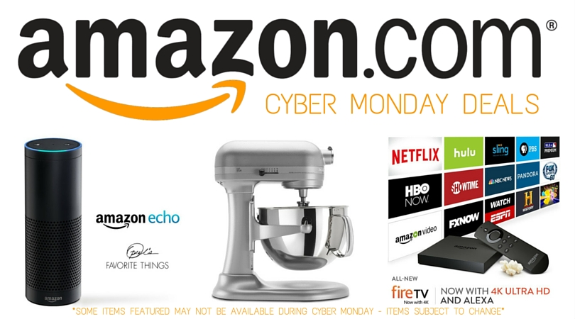 Get the most out of your holiday season budget and shop the best Cyber Monday deals on Amazon!