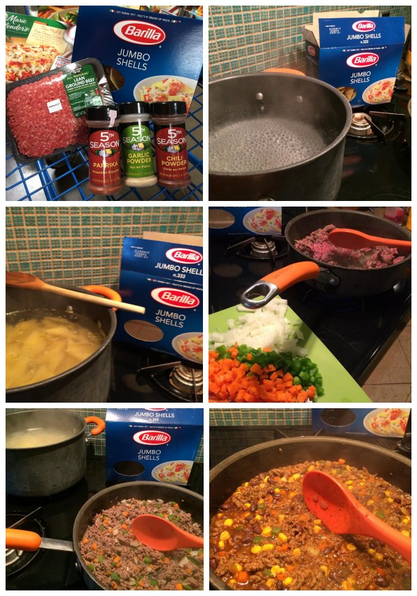 How to make stuffed tacos #BarillaFiesta #WeaveMade #ad