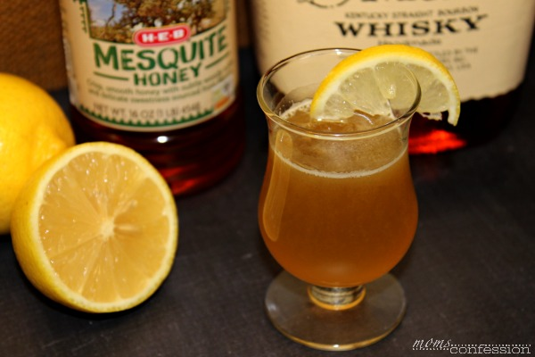 The easy way to help with cold and cough season...a hot toddy shot recipe! | Moms Confession