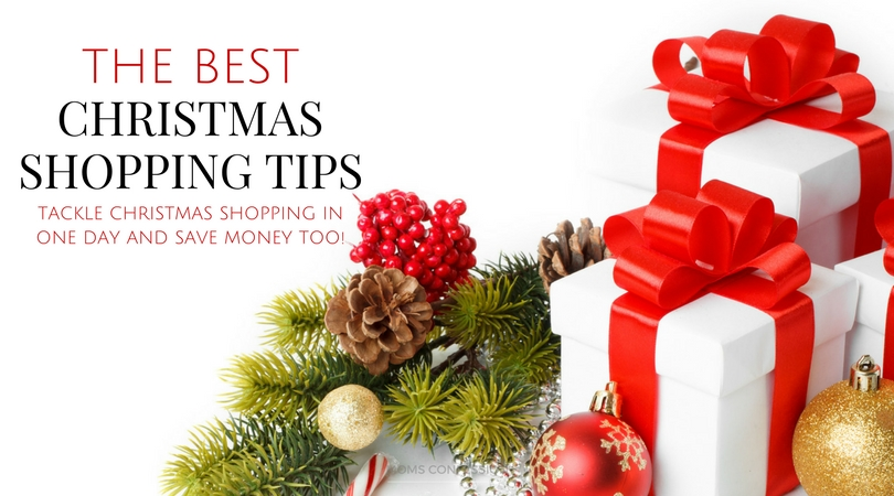 With these Christmas shopping tips, you can get it done one day and still have time to wrap the gifts while also keeping your holiday budget in mind!