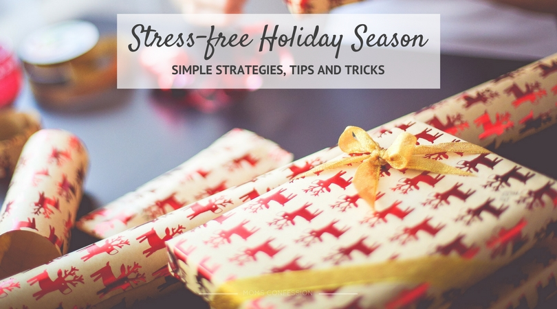 Holiday celebrations are in full swing and you're starting to feel the stress of the holidays. These strategies for a stress free holiday season will help!