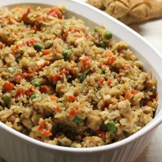 Does your family love Chinese food as much as we do? If so, I promise this Chicken Fried Rice recipe is super easy and you can make it without a hassle.