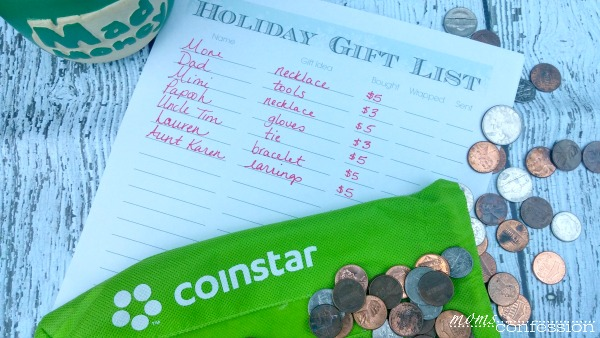 Stretch your holiday budget this holiday with a gift list and teach your kids all about budgeting too! | Moms Confession