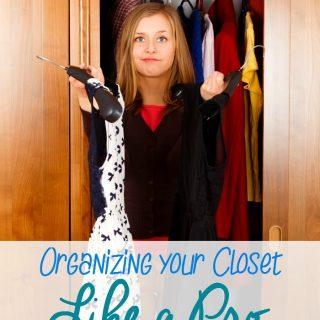 Organize Your Closet Like The Pros