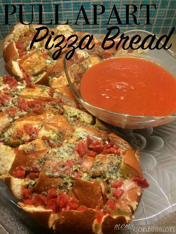 Great recipe for Super Bowl...Pull Apart Pizza Bread | MomsConfession.com