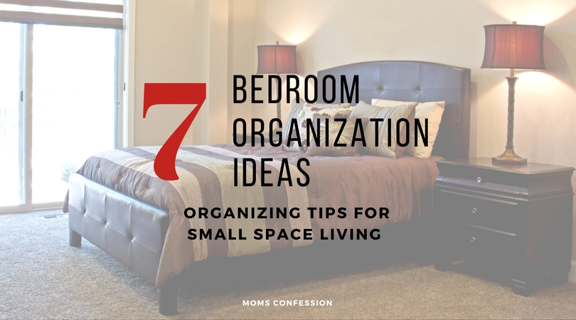Your bedroom should be one of the most relaxing and enjoyable rooms in the house. With these 7 bedroom organization ideas, you can create that space and sleep better at night!