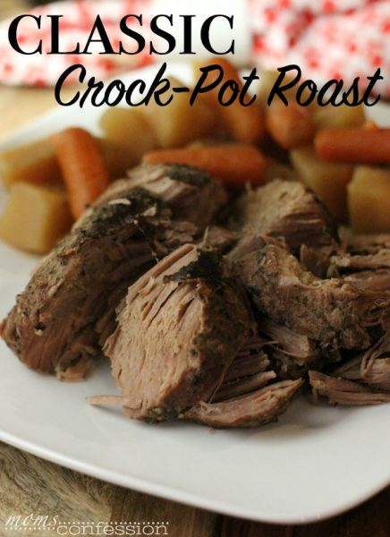 A classic crock-pot roast with potatoes and carrots is true comfort food and this recipe is no exception. In my opinion, it's the best roast recipe ever!