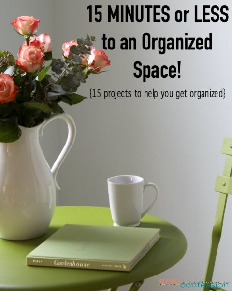 15 Organizing Projects to an Organized Space in 15 Minutes or Less