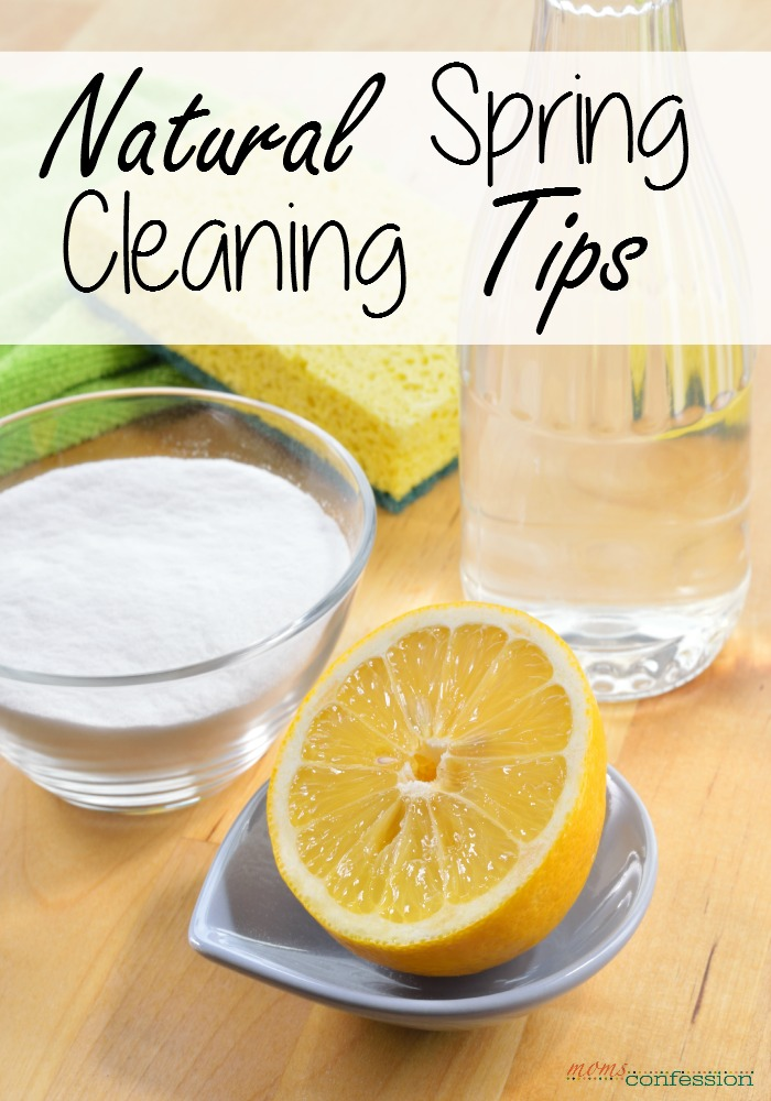 Spring is here and it's time to Spring clean. If you are looking for natural ways to clean, check out these natural spring cleaning tips to get started now!