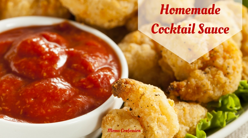 A good cocktail sauce can really make a seafood dinner go from okay to amazing! This homemade cocktail sauce recipe will take your dish up a notch!