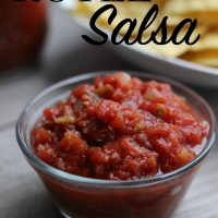 The Best Rotel Salsa Recipe EVER!
