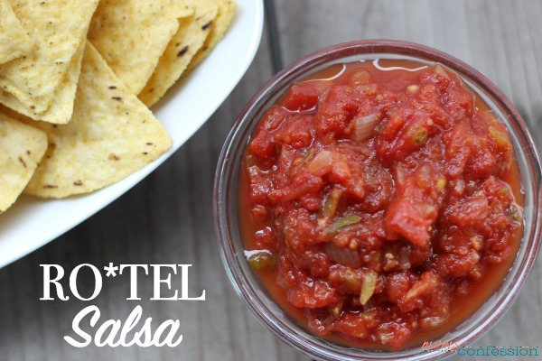 Try this Rotal Salsa recipe! It's so simple to make and the whole family will be begging for more!