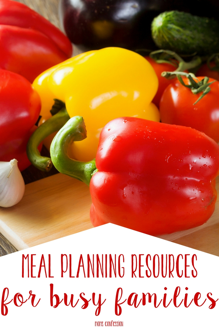 Meal Planning Resources to Simplify Your Life
