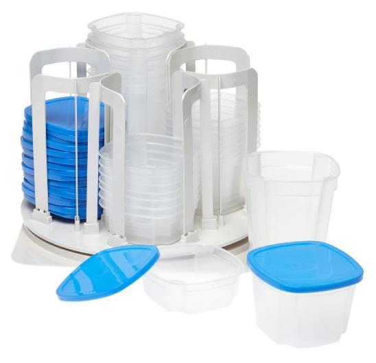 plasticware organizer