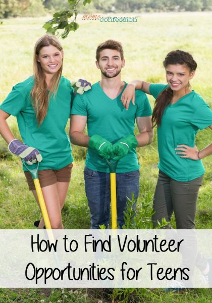 Is your teen wanting to volunteer or are you trying to get them more active in volunteering? Learn how to find volunteer opportunities for teens here.