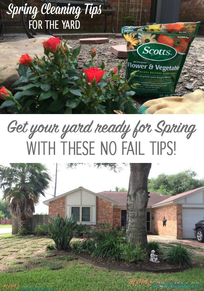 Spring Cleaning Tips for the Yard