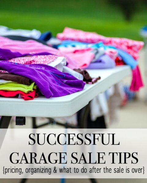 We all know that a garage sale can be an easy money maker, but with these garage sale tips you are sure to set yourself up for the best garage sale ever.