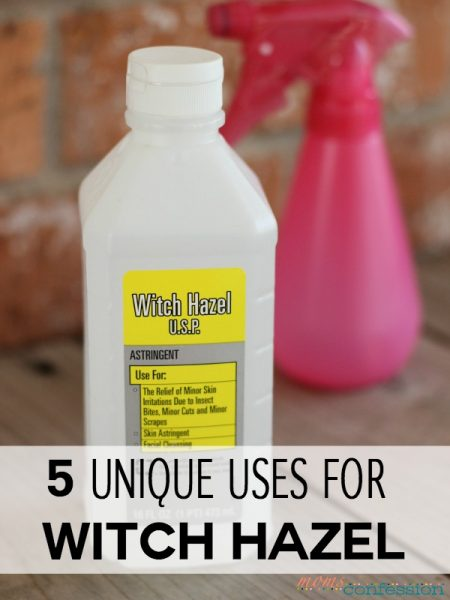 Unique Uses for Witch Hazel