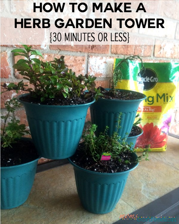Creating your own herb garden can be a rewarding experience. Learn how to make a herb garden planter in 30 min or less for under $10 using Miracle-Gro.