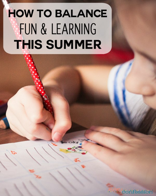 With summer around the corner, we have the difficult task of balancing fun and summer learning for our children. Check out these tips to balance it all.