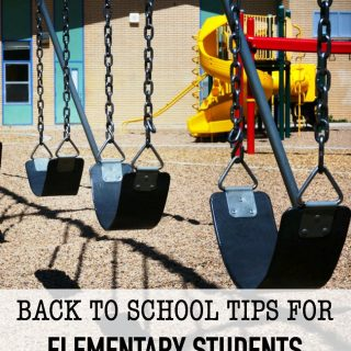 It's hard to believe that our kids will be heading back to school soon. There's no doubt that summer flies by incredibly fast. Since it's time to send the kids back to learn, check out these back to school tips for elementary students.