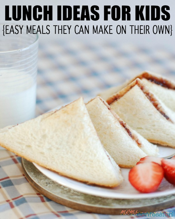 Lunch Ideas for Kids to Make