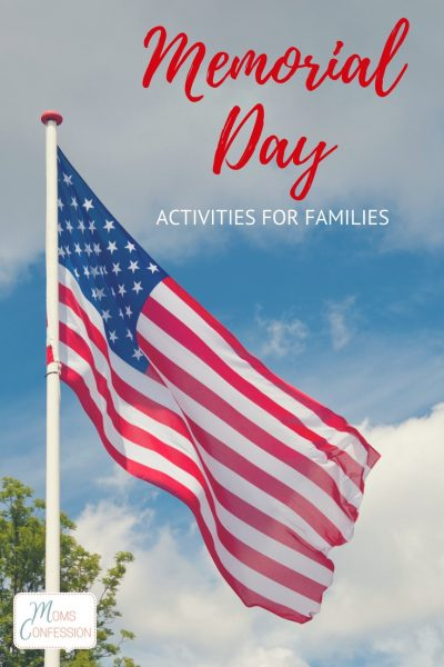 Looking for Memorial Day activities and ideas for your family? Check out these awesome ideas to spend with your family and also honor those who have served.