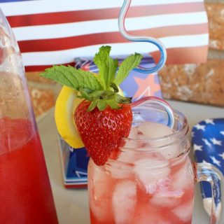 Making this good moscato cocktail at home tastes so much better on a cool summer day. Plus it's great for the upcoming your 4th of July parties.