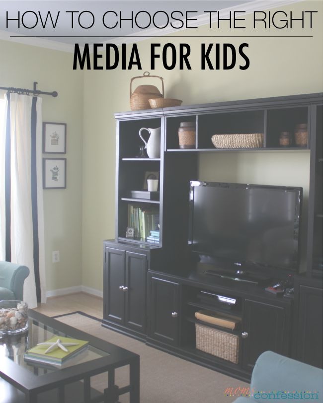 How to Choose the Right Media for Kids