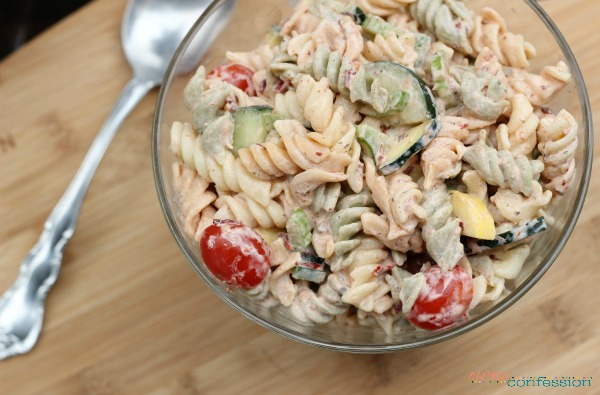 Pasta salads are great any time of the year, but they are exceptionally good during the summer and spring. Whipping up an easy pasta salad as a side dish can make any meal come together completely.