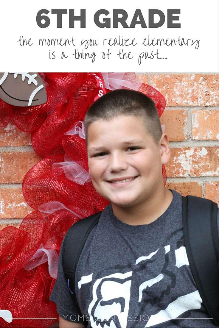 6th Grade…