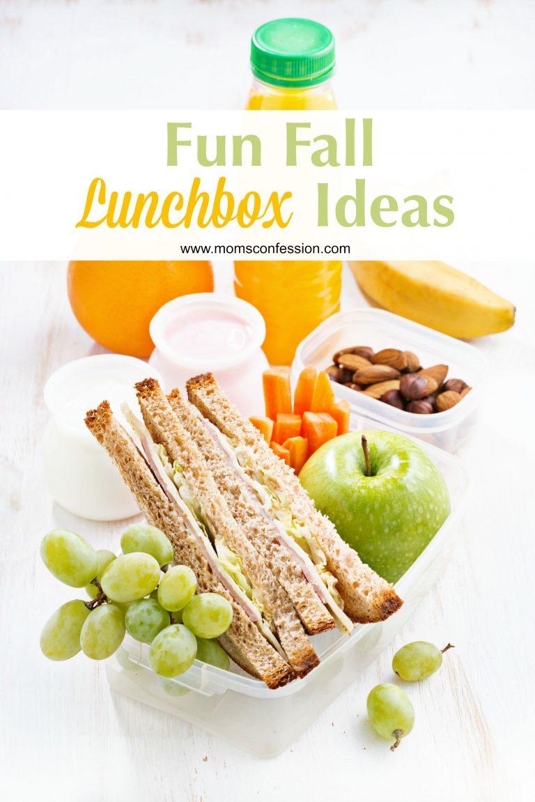 Fun Fall Lunchbox Ideas