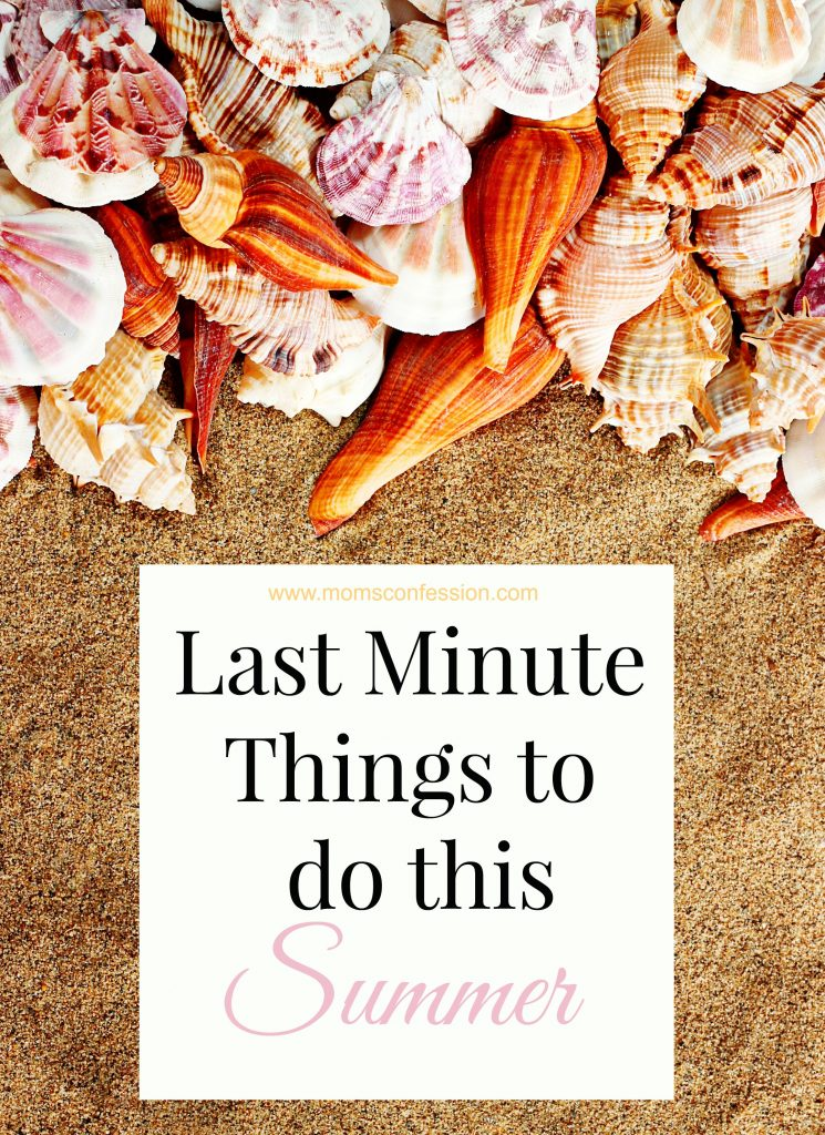 Last minute things to do this summer like this great list are just what you need to stay in budget while having a great time with your family to end summer!