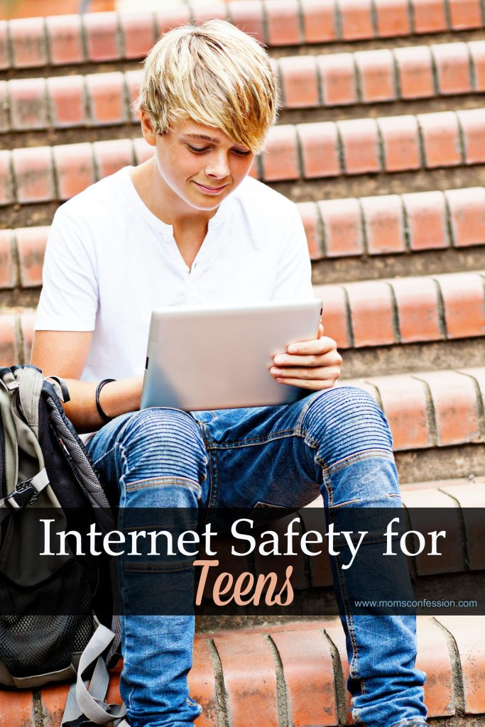Internet Safety For Teens is vital as summer months approach and kids have more time on their hands! Don't miss our Tips For Internet Safety For Teens!