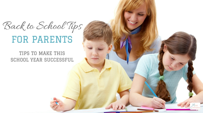 Get the kids back on track and make this school year successful with these back to school tips for parents and families. You need these tips in your life!