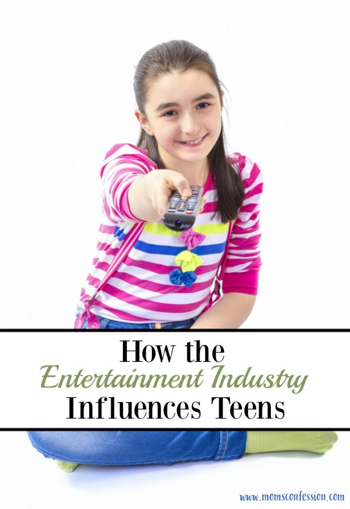 Here are our top tips for how to handle the Entertainment Industry Influence on Teens. You can manage to protect without controlling their every move!